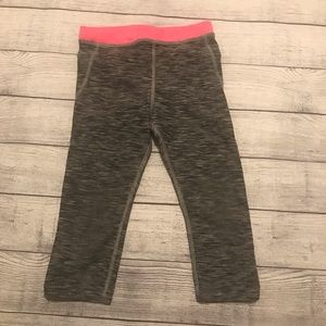 H&M Cropped Tights in Pink and Gray
